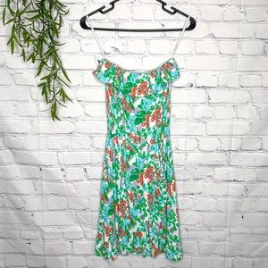 Lilly Pulitzer strapless dress Bee in Your Bonnet